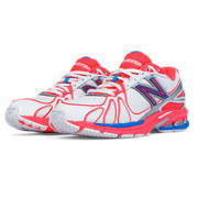 New Balance 761v3, White with Pink & Blue
