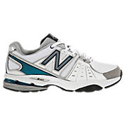 New Balance 761, White with Black & Teal