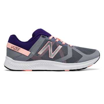 New Balance Vazee Transform Mesh Trainer, Grey with Bleached Sunrise & Black Plum