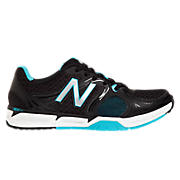 New Balance 797v2, Black with Turquoise