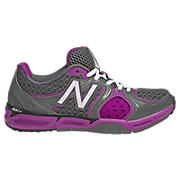 New Balance 797, Grey with Purple Cactus Flower & White