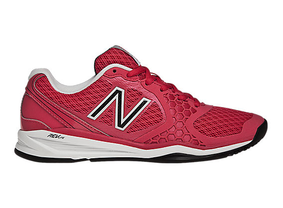 New Balance 797, Raspberry with White