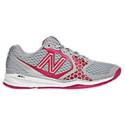 New Balance 797, Silver with Diva Pink