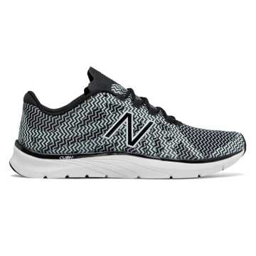 New Balance New Balance 811v2 Graphic Trainer, Black with White