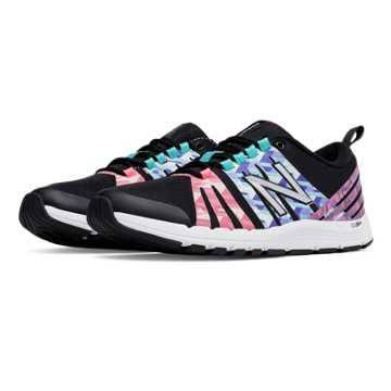 New Balance New Balance 811 Print Trainer, Black with Guava & Spectral