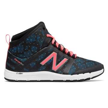 New Balance New Balance 811 Print Mid-Cut Trainer, Droplet with Black & Guava
