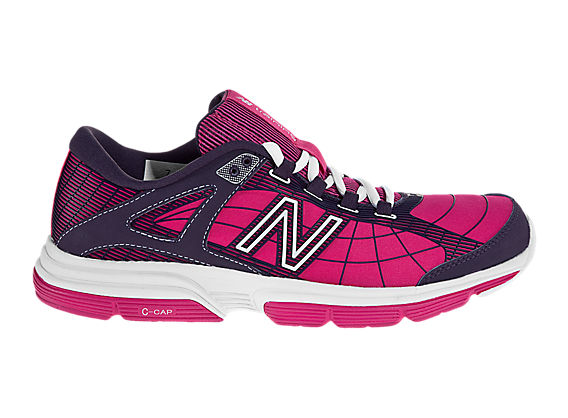 New Balance 813, Magenta with Black & White