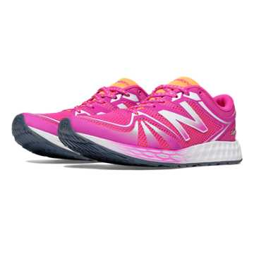 New Balance Exclusive Fresh Foam 822v2 Trainer, Azalea with Impulse
