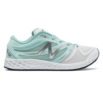 New Balance Fresh Foam 822v3 Trainer, Ozone Blue with White