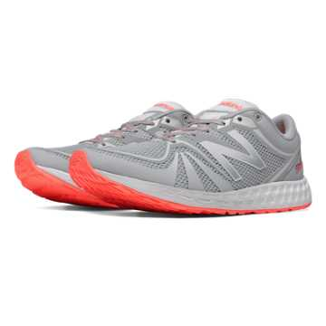 New Balance Exclusive Fresh Foam 822v2 Trainer, Silver with Dragonfly