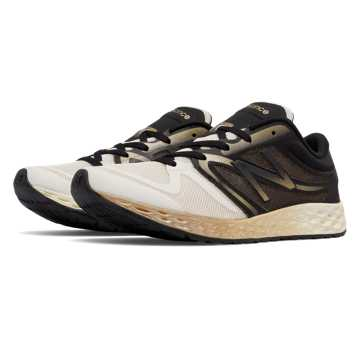 New Balance Fresh Foam 822v3 Trainer, Angora with Black