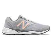 New Balance 824 Trainer , Grey with Guava