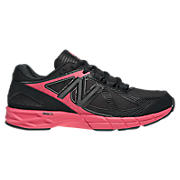 New Balance 877, Black with Diva Pink