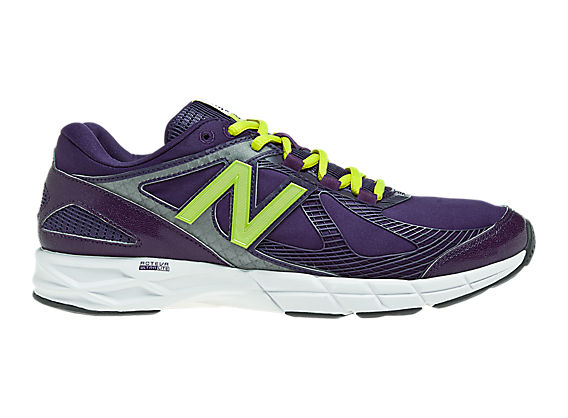 New Balance 877, Potent Purple with Neon Green & Grey