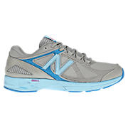 New Balance 877, Grey with Kinetic Blue & Sky Blue