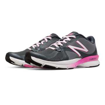 New Balance New Balance 88v2 Trainer, Grey with Fluorescent Pink & White