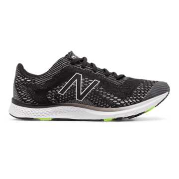 New Balance Vazee Agility v2 Trainer, Black with Lime Glo & White