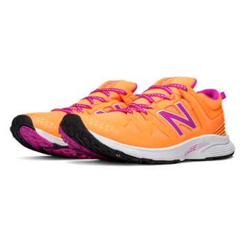 New Balance Vazee Agility Trainer, Impulse with Azalea & White