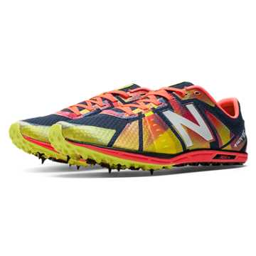 New Balance XC5000 Spike, Yellow with Black & Red