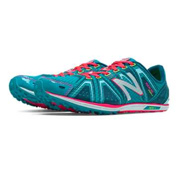 New Balance XC700v3 Spikeless, Teal with Bubble Gum Pink