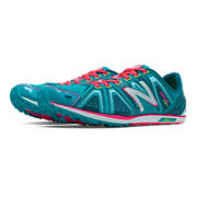 XC700v3 Spikeless, Teal with Bubble Gum Pink