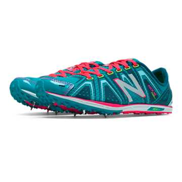 New Balance XC700v3 Spike, Turquoise with Bubble Gum Pink