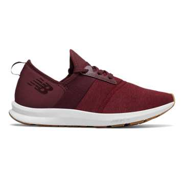 Women's FuelCore NERGIZE, Burgundy with White
