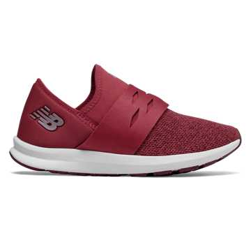 Women's FuelCore Spark, Red with Burgundy