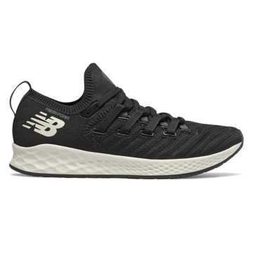 Women's Fresh Foam Zante Trainer, Black with Orca & Sea Salt