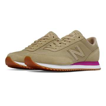New Balance 501 Ripple Sole Textile, Dust with Jewel