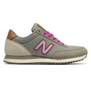 New Balance 501 Ripple Sole, Taupe with Powder