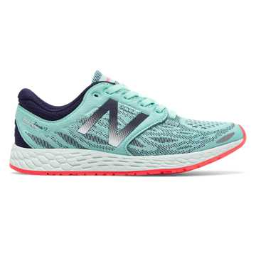 New Balance Fresh Foam Zante v3, Ozone Blue with Bright Cherry