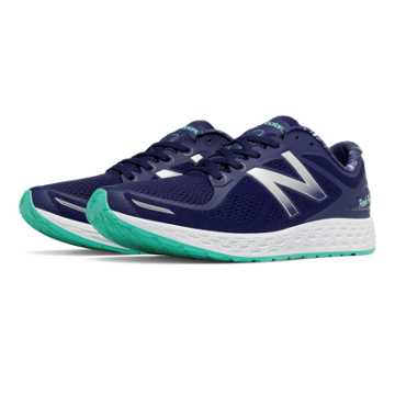 New Balance Fresh Foam Zante v2, Navy with Teal