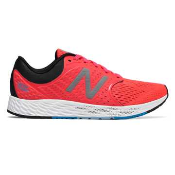 Women's Fresh Foam Zante v4, Coral with Black & Blue