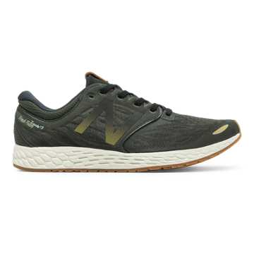 New Balance Fresh Foam Zante v3 Club Pack, Force Green with Black