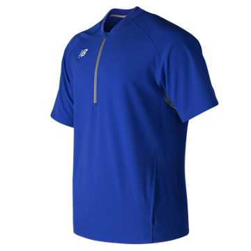 Youth Short Sleeve 3000 Batting Jacket, Team Royal