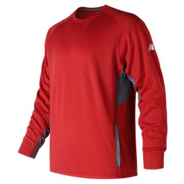 Youth Baseball Pullover 2.0, Team Red