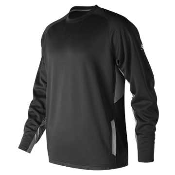 Youth Baseball Pullover 2.0, Team Black