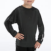Youth Athletic Long Sleeve Top, Charcoal Grey