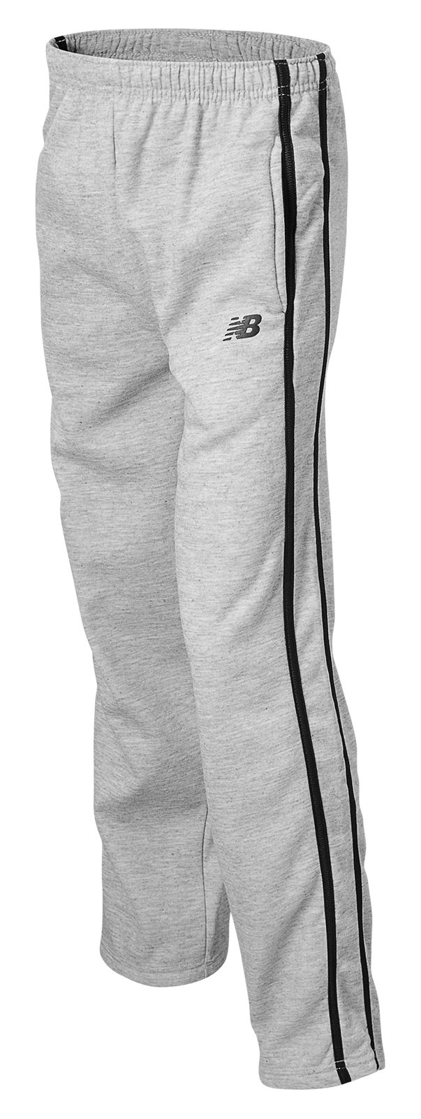 New Balance Youth Fleece Pant Grade - school Boys Grey