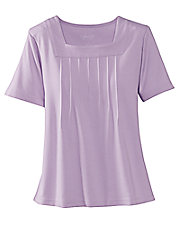 UltraSofts® Square Neck Top