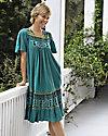Santa Fe Border Print Dress