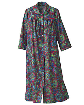 Rich Paisley Print Models Coat ®