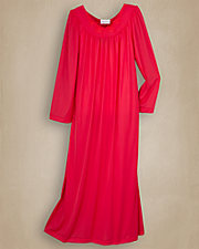 Long Sleeve Roses Gown