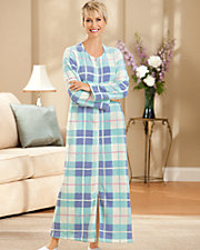 Plaid Plush Robe