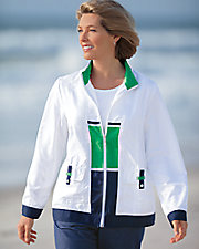 Nautical Colorblock Jacket