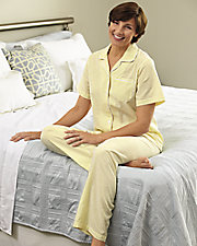 No-iron Seersucker Pajamas
