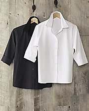 Essential Button-Front Shirt
