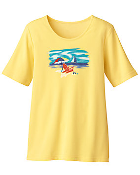 Summerwinds Screen Print Tee
