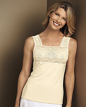 Square Neck Lace Camisole